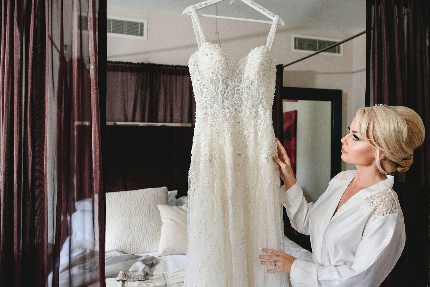 kenneth winston dress hanging up