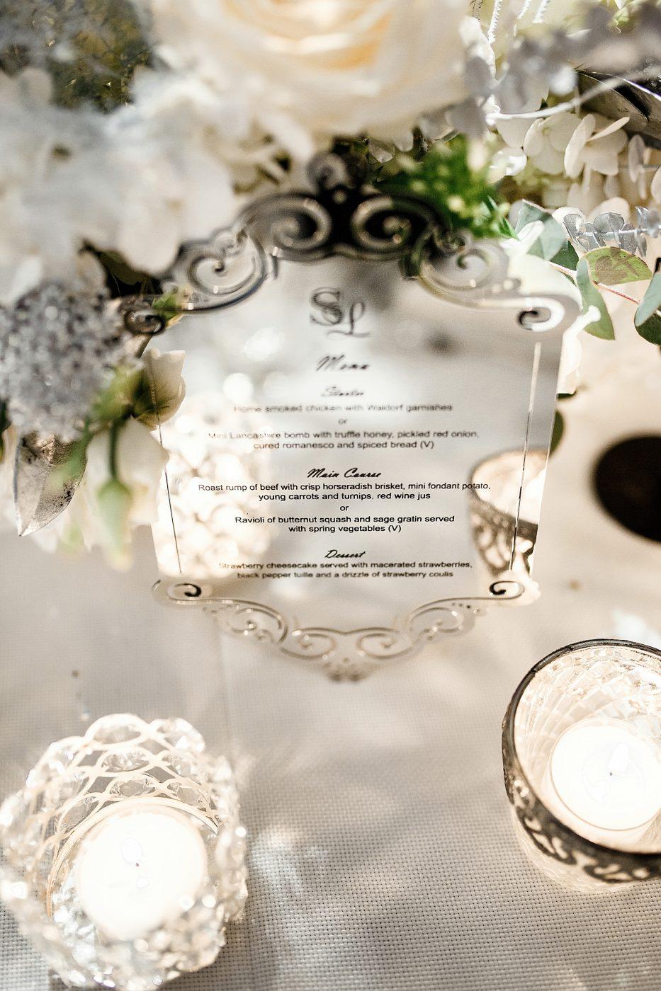 winter wonderland table decorations