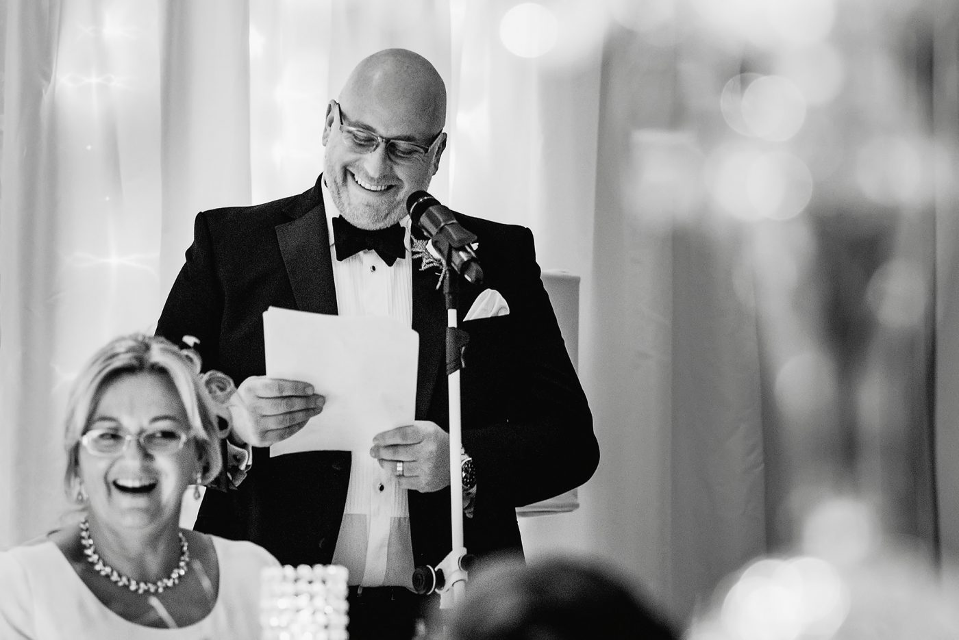 best man speech black and white