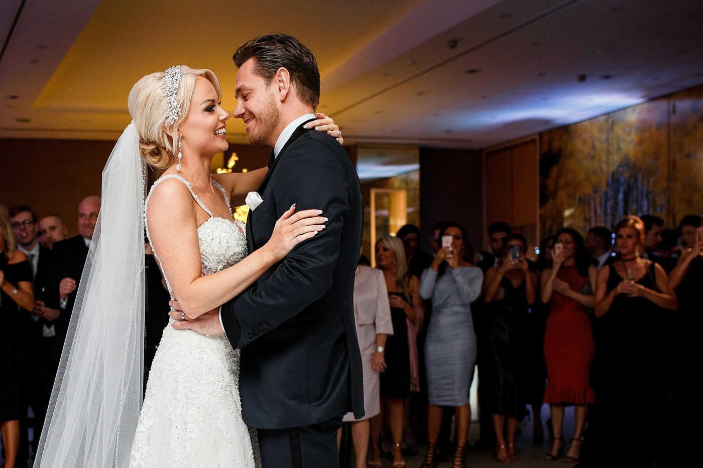 first dance at the grove hotel