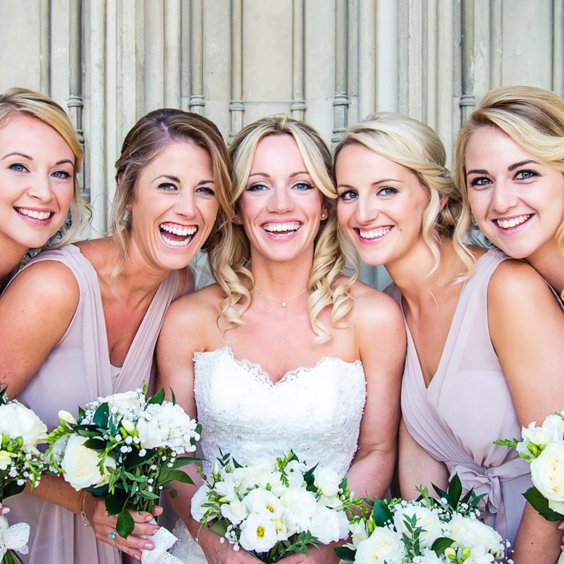 Bridesmaids at Ashridge House
