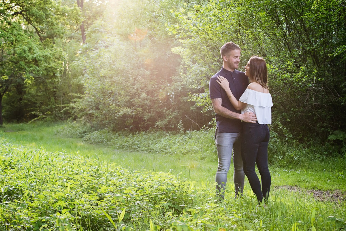 Engagement Shoot Couple Photo