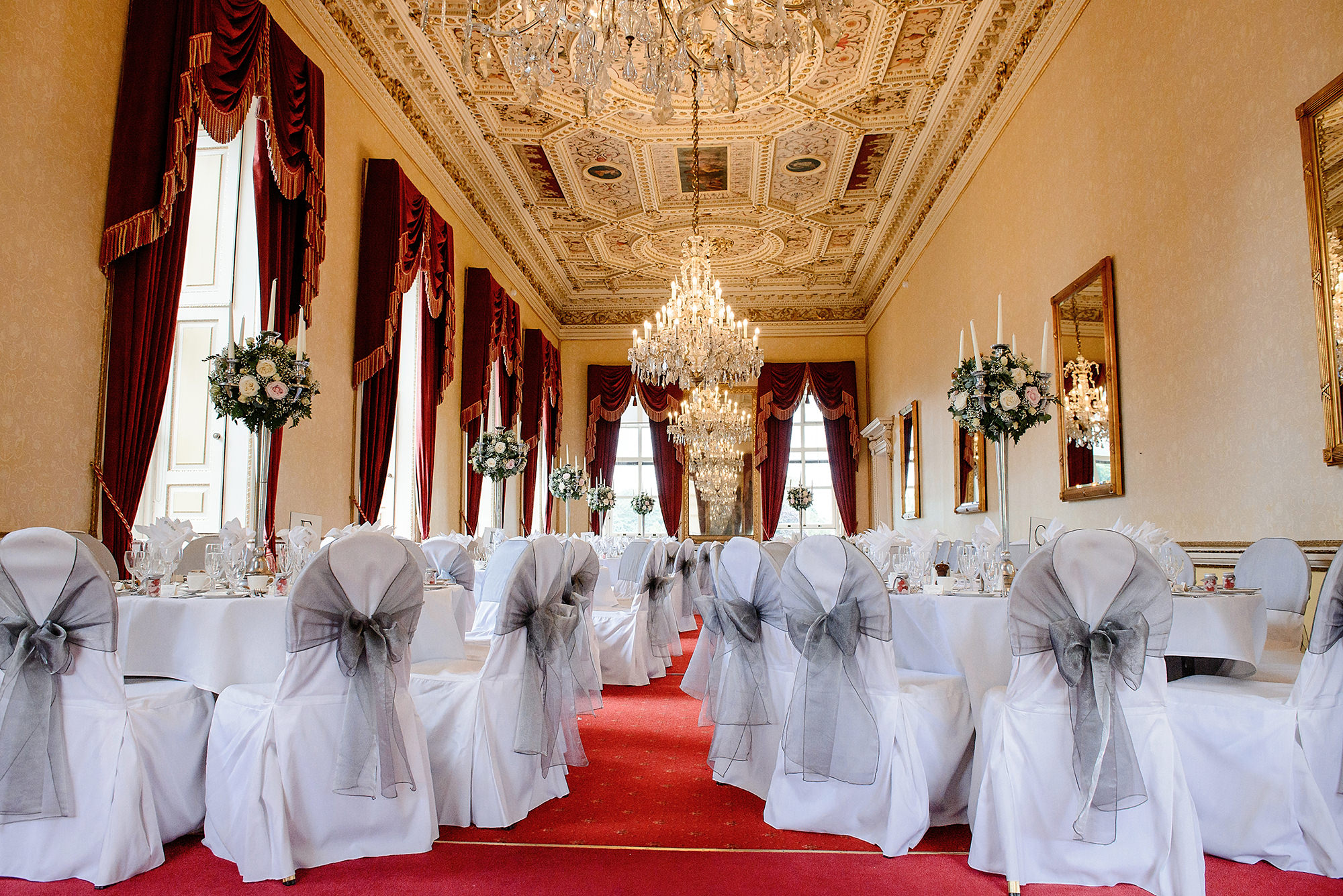 The dining room at Moor Park
