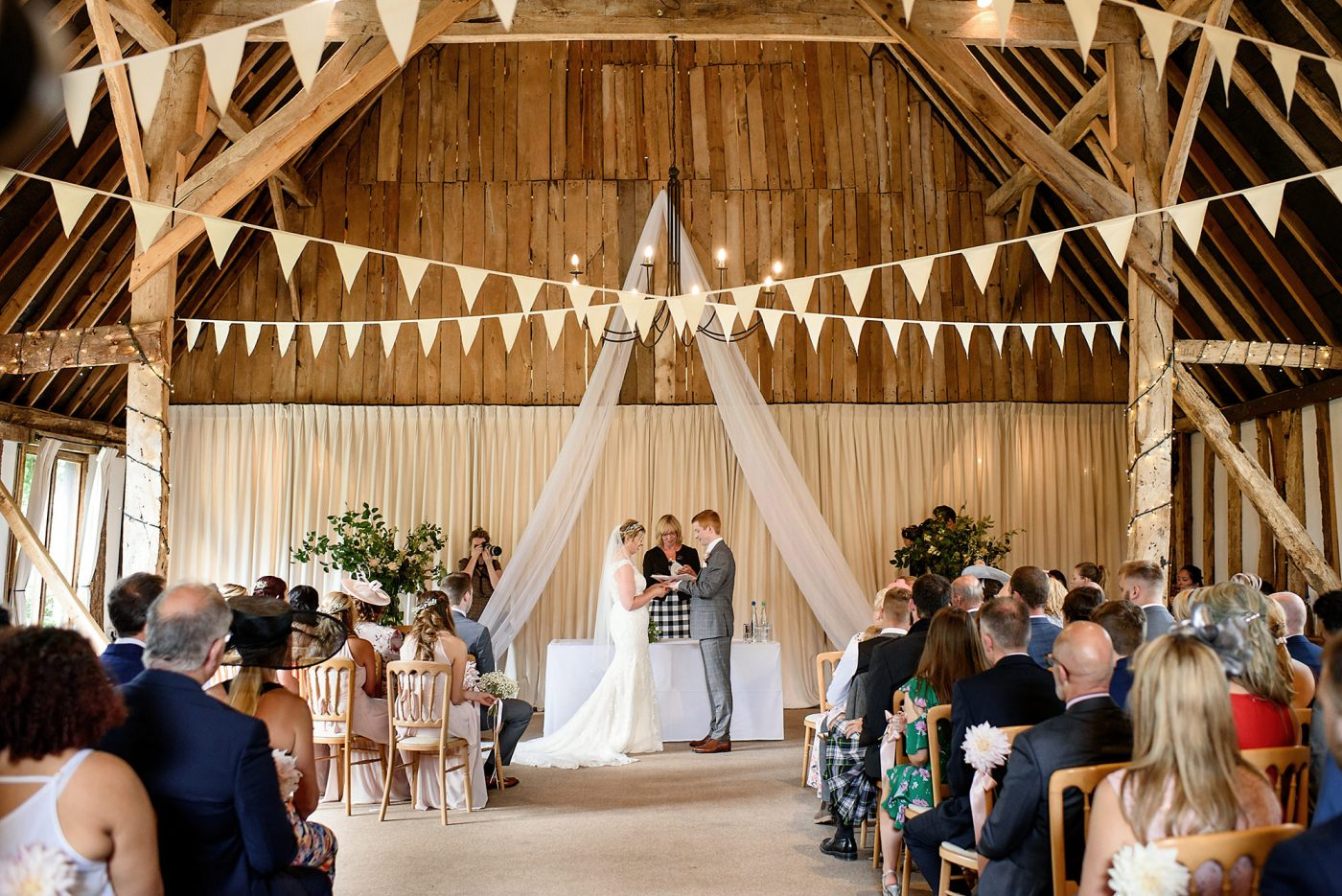 clock barn wedding photographer