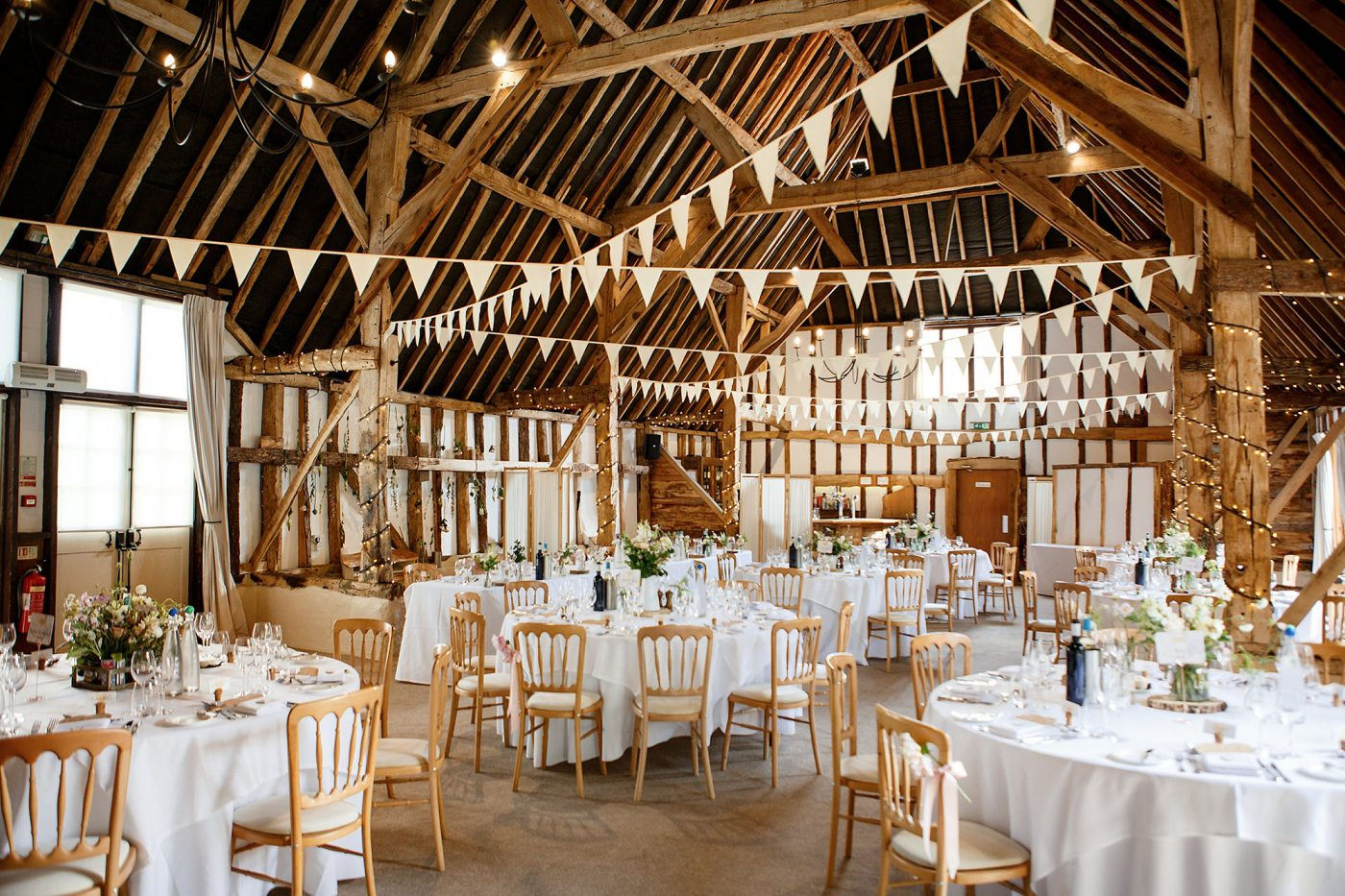 clock barn wedding reception