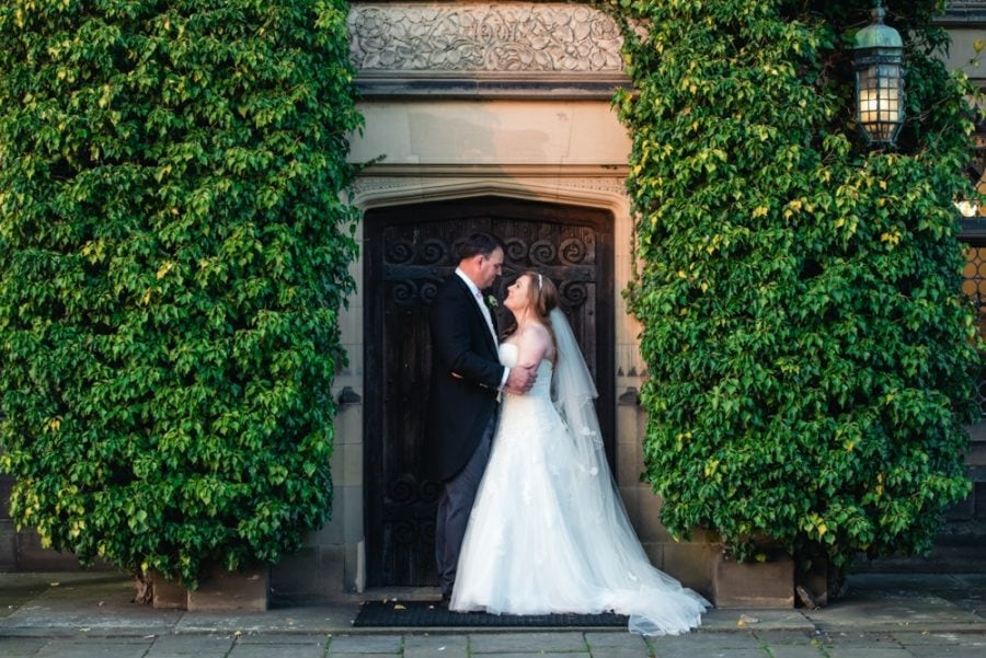 Fanhams Hall wedding couple photography