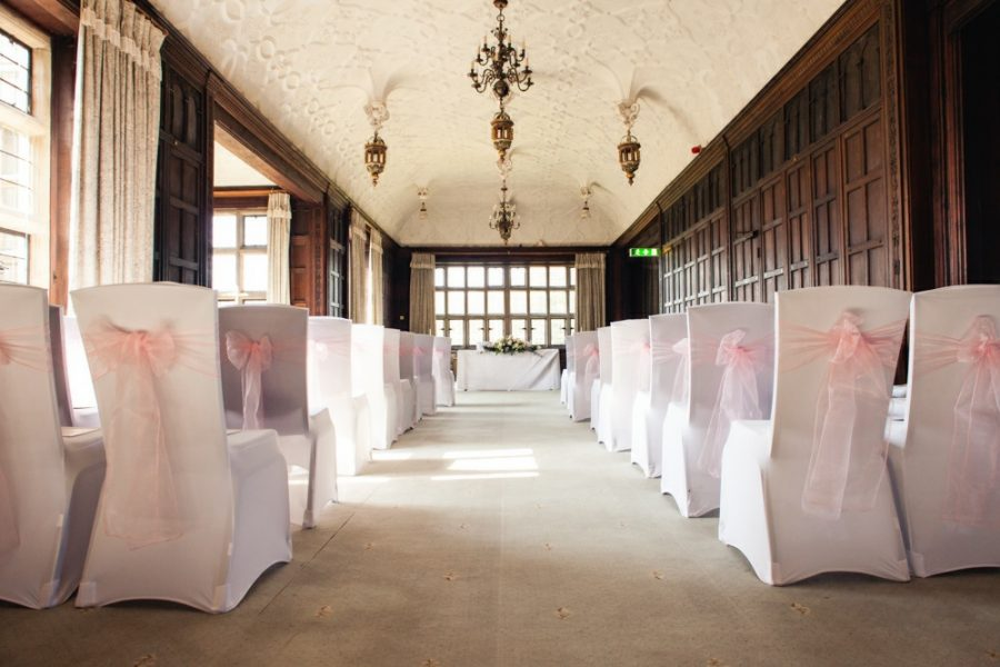 Fanhams Hall ceremony room