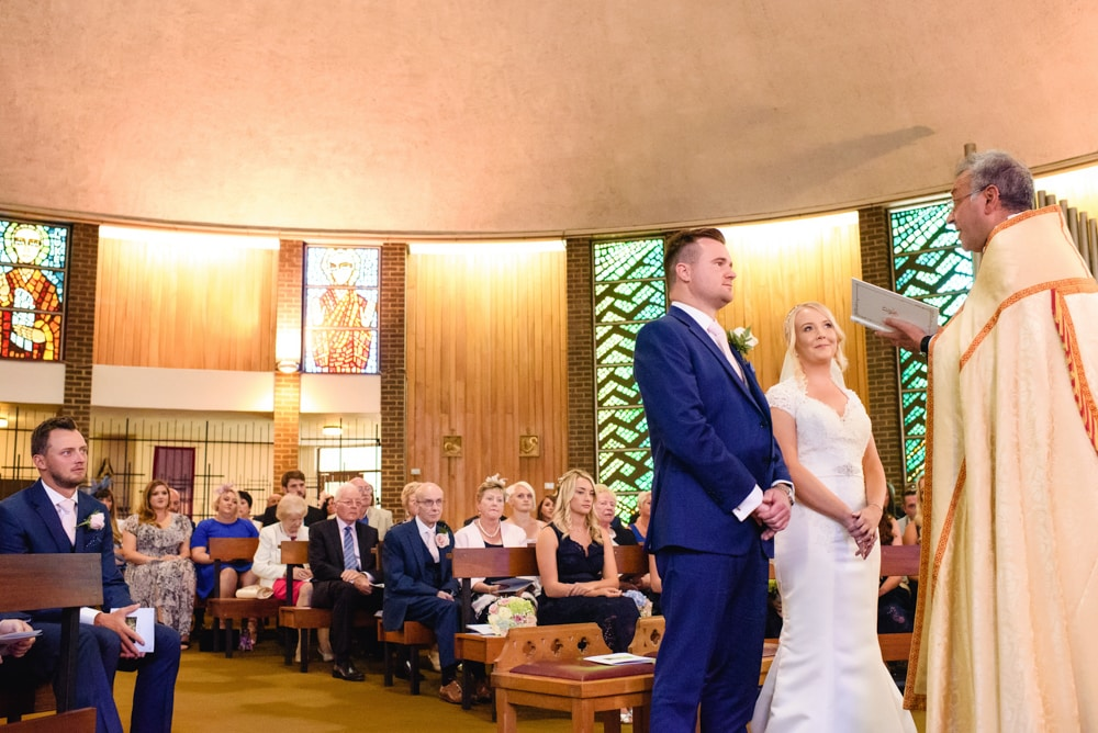 Marychurch Hatfield Wedding Ceremony Photographer