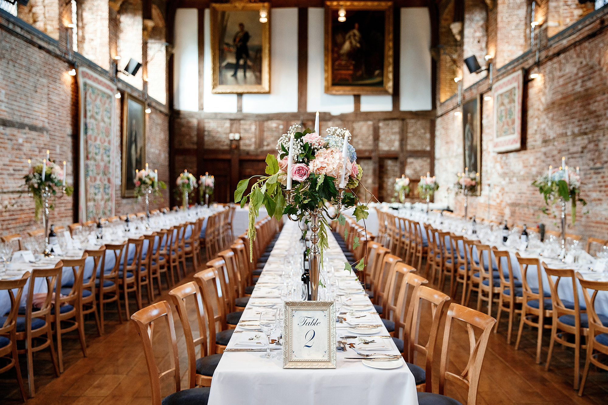 the old palace wedding at hatfield house