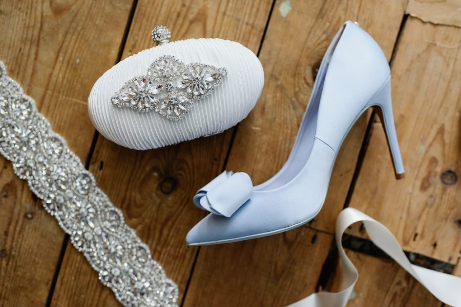 blue ted baker wedding shoes