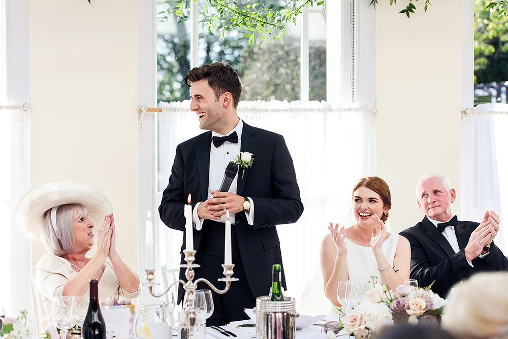 speeches at richmond wedding venue