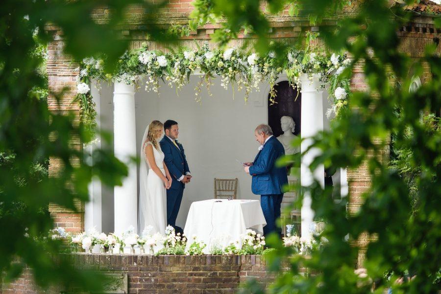 wedding ceremony micklefield hall