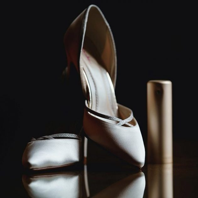 wedding shoes at ashridge house
