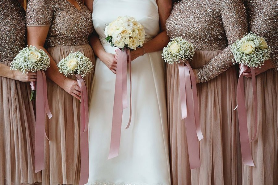 wedding trends for 2020 bridesmaids at Ashridge house