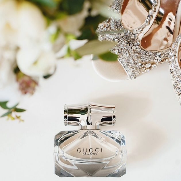 wedding details gucci perfume jimmy choo shoes