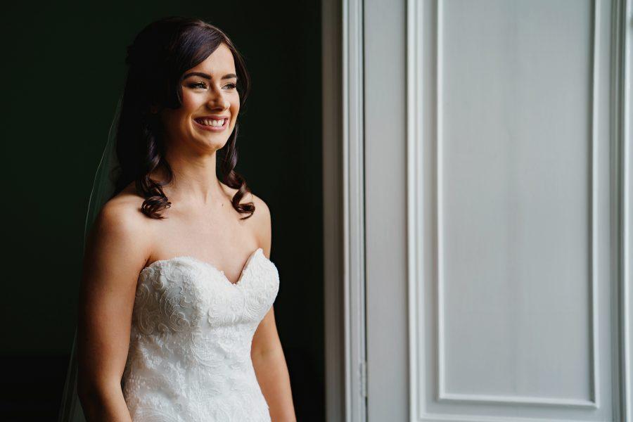 bridal prep in the dukes sitting room