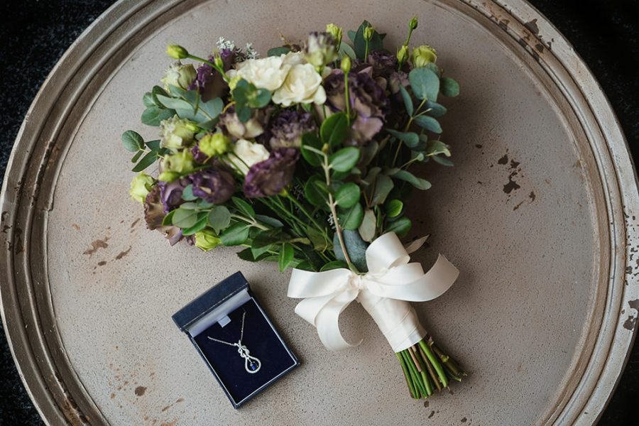 bouquet from milling barn wedding