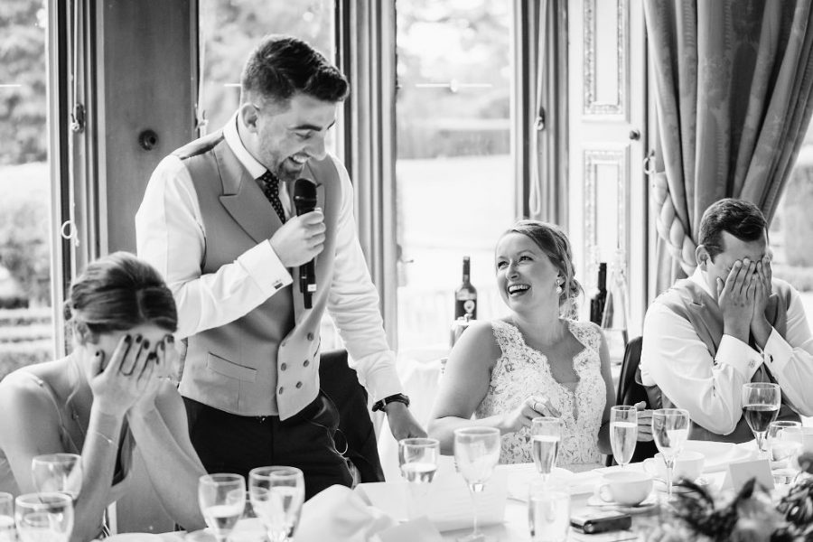 funny wedding speech photo