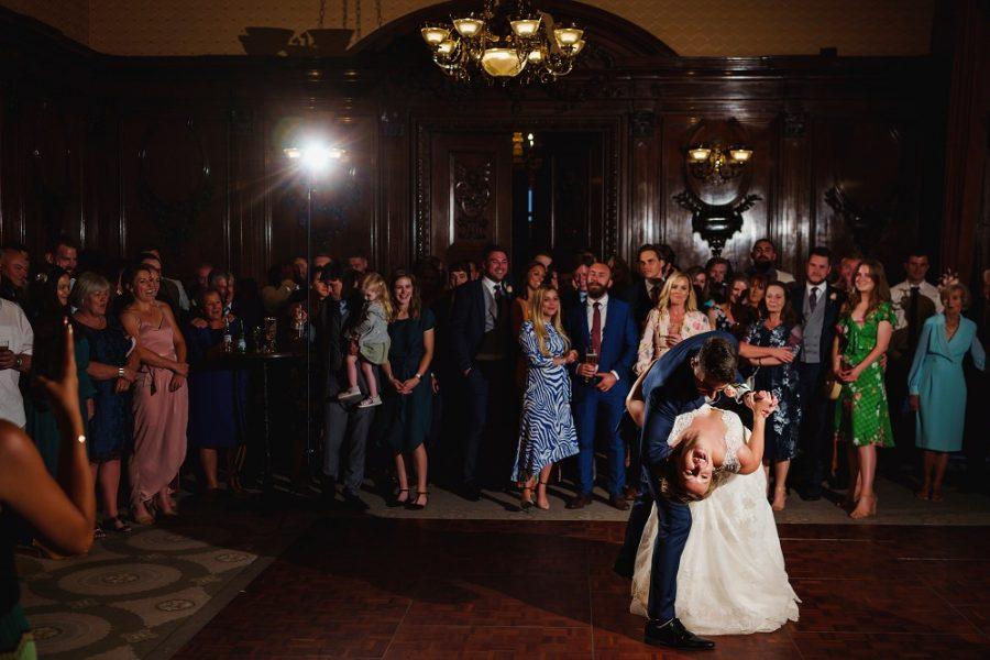 first dance at country house wedding in Berkhamsted