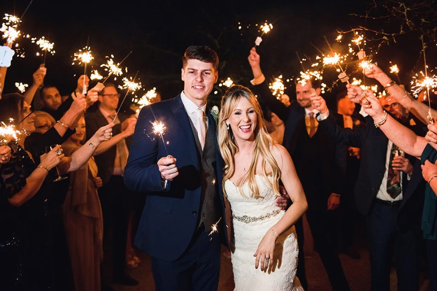 sparklers at micklefiel hall