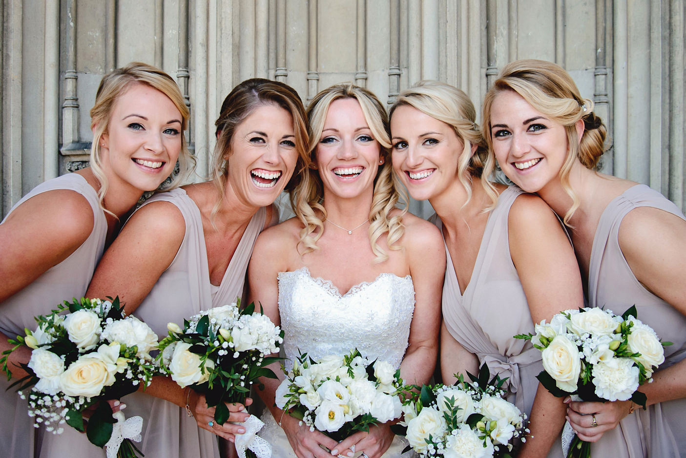 bridesmaids at ashridge house